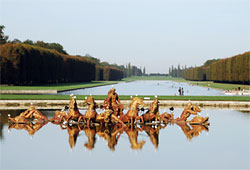 The Apollo fountain in Versailles