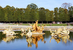 The Neptune fountain in Versailles