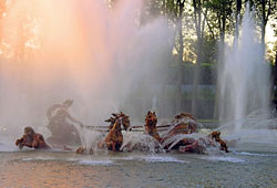 The Fountains show in Versailles