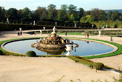 Fountains of the palace of Versailles